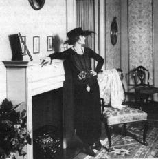"""1 - Anita Berber na revista """"Die Dame"""" 1918."""