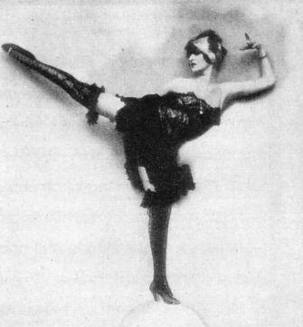 5 - Anita Berber in Pritzelpuppe by Atelier Eberth, 1920s.