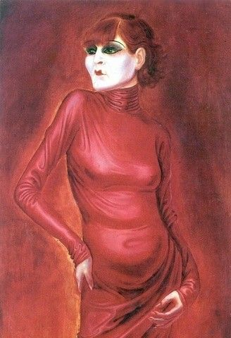 7 - Anita Berber interpretada por Otto Dix.