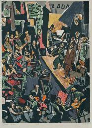 The Cabaret Voltaire. Marcel Janco.