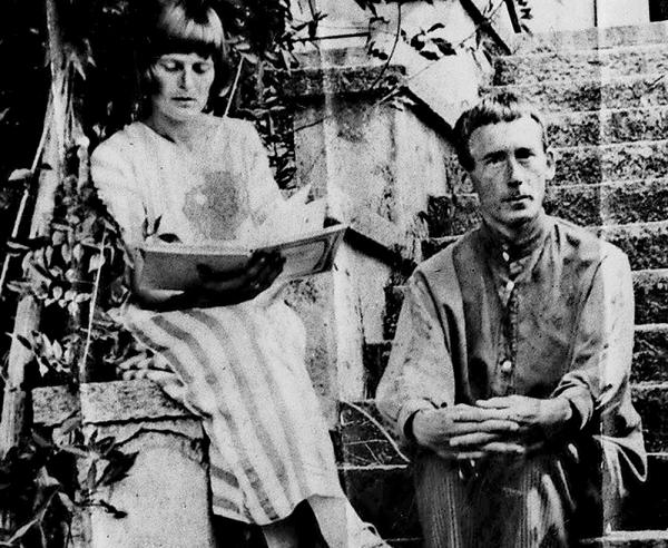 Emmy Hennings e Hugo Ball.
