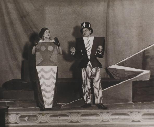 Emmy Hennings e Tristan Tzara.