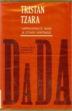 Livro de poesias de Tristan Tzara.