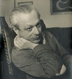 Tristan Tzara, 1955.