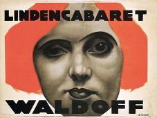 Poster de Claire Waldoff , feito por Jo Steiner.