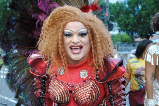 Suzy Brasil no carnaval.