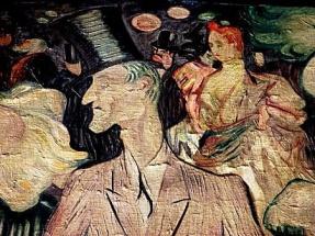 Valentin le Desossé. Fresque de Mahé (1950) Moulin Rouge.