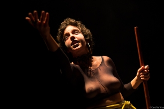 Severa Maldita, Mestre de Cerimônia. Foto: Cecília Vaz