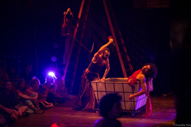 A morte de Marat. Foto: Cecília Vaz