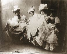 Jane Avril's Quadrille: Jane Avril, Eglantine, Cléopatre and Gazelle