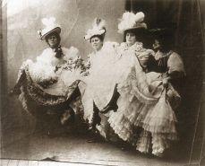 Jane Avril's Quadrille: Jane Avril, Eglantine, Cléopatre and Gazelle