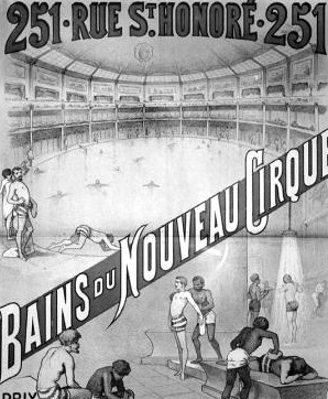 Cartaz do Nouveau Cirque.