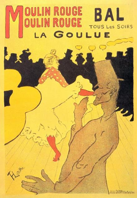 Pintura de Toulouse-Lautrec.
