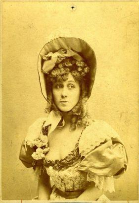 Jane Avril, 1900.