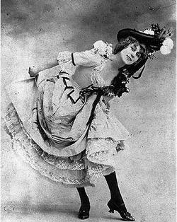 Jane Avril, 1890