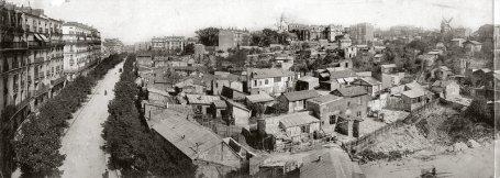 Montmartre em 1904, Rua Caulaincourt