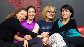 Ana Francis Mor, Nora Huerta, Cecilia Sotres y Marisol Gasé