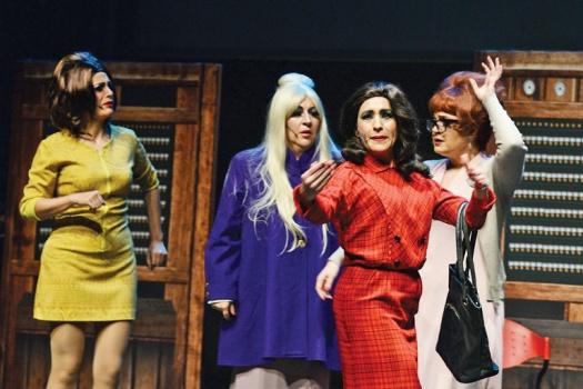 Foto do Espetáculo - A Chuchita sí la bolsearon, sí la llevaron al baile y sí le hicieron de chivo los tamales
