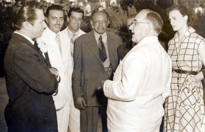 5 - Oscarito com Getúlio Vargas