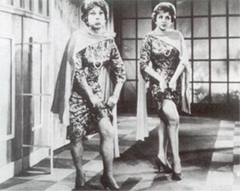 6 - Oscarito e Eva Todor
