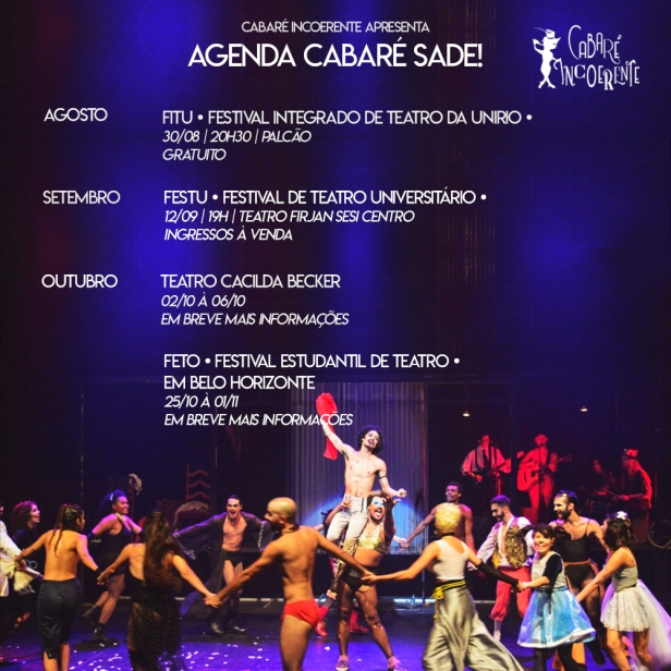 Agenda Cabaré Sade