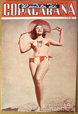 Capa da Revista Copacabana, edição de aniversário.