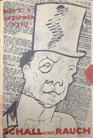 Capa do programa do primeiro mês do segundo Schall und Rauch