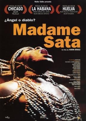 """Capa do Filme """"Madame Satã"""" (2002), direção Karim Aïnouz"""