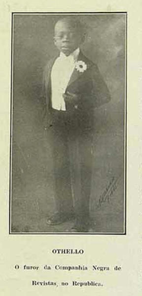 """1927 - """"OTHELLO - O furor da Companhia Negra de Revistas, no Republica"""""""